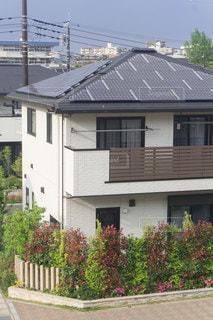 太陽光パネル 住宅の写真・画像素材[3472648]