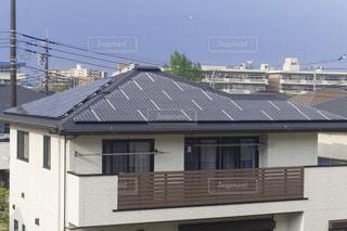 太陽光パネル 住宅の写真・画像素材[3472650]