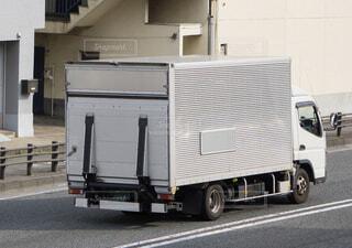 箱トラック 輸送トラックの写真・画像素材[3619713]