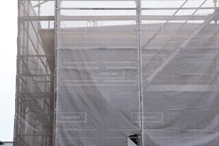建設工事現場 カバーシートの写真・画像素材[3626786]