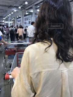 混雑の倉庫店 買い物の写真・画像素材[3721834]