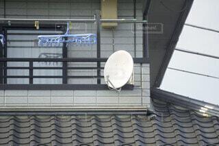 衛星アンテナの写真・画像素材[3796271]