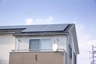 太陽光パネル 住宅の写真・画像素材[3796895]