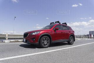 SUV乗用車 多用途車の写真・画像素材[3850275]