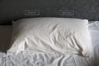 まくら 睡眠の写真・画像素材[3962134]