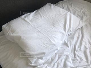 まくら 睡眠の写真・画像素材[4016149]