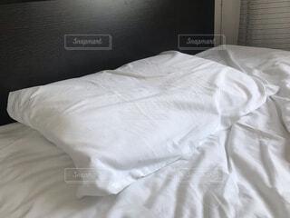 まくら 睡眠の写真・画像素材[4016156]