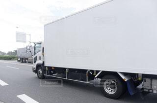 箱トラックの写真・画像素材[4026922]