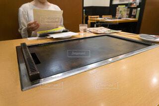 お好み焼き テーブルの写真・画像素材[4161568]