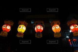 春節のランタン 横浜中華街の写真・画像素材[4180266]