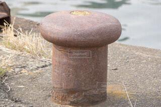 ボラード 係船柱の写真・画像素材[4181796]