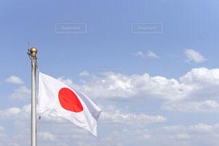 日本国旗の写真・画像素材[4286303]