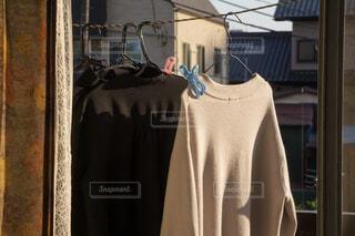 ベランダ 洗濯物の写真・画像素材[4354577]