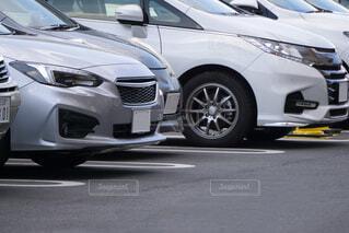 屋外駐車場の写真・画像素材[4406222]