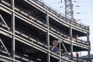 立体駐車場の写真・画像素材[4412844]
