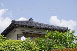 寄棟屋根の写真・画像素材[4699219]
