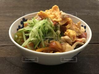 中華料理 まぜ麺の写真・画像素材[4742878]