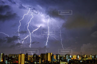 空の雲の群の写真・画像素材[3175585]