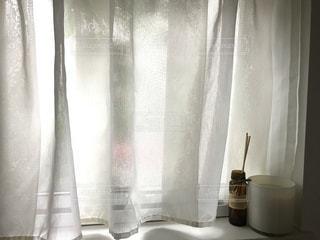 ガラスのシャワーカーテンの写真・画像素材[3444709]