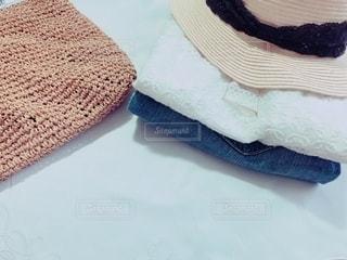 夏の洗濯物の写真・画像素材[3590056]
