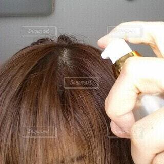 薄毛のクローズアップの写真・画像素材[3653913]