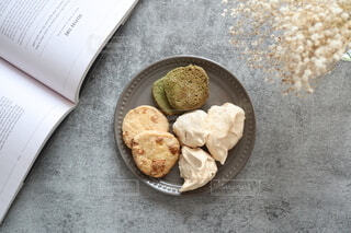 クッキー3種盛りの写真・画像素材[4056752]