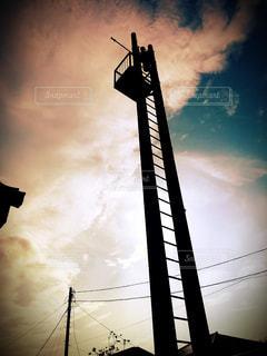 空と鐘の写真・画像素材[3123793]