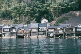 伊根の舟屋の写真・画像素材[3130336]