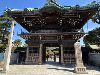 明治神社の前の像の写真・画像素材[3128592]