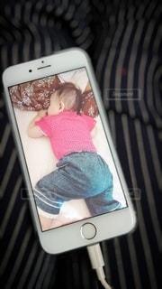 眠る赤ちゃんの写真・画像素材[3224355]