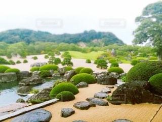 日本庭園の写真・画像素材[3500977]