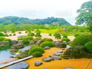 日本庭園の写真・画像素材[3501056]