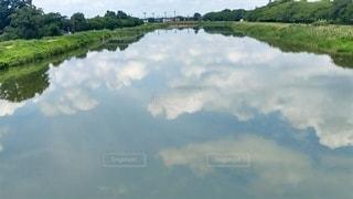 利根川の写真・画像素材[3510047]