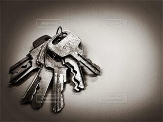 鍵いっぱいの写真・画像素材[3135360]