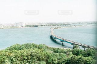 湖にかける橋の写真・画像素材[3385256]