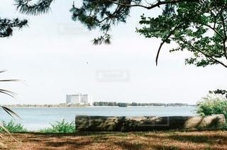 マルタベンチと湖の写真・画像素材[3385478]
