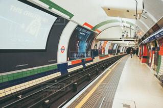 ロンドンの地下鉄の写真・画像素材[3619363]