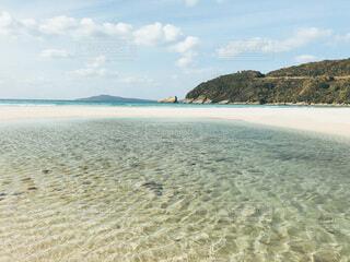 綺麗な海と砂浜の写真・画像素材[4030389]