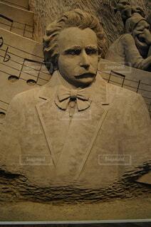 作曲家、エドヴァルド・グリーグの写真・画像素材[3808410]