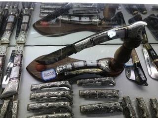 英吉砂ナイフの写真・画像素材[3431226]