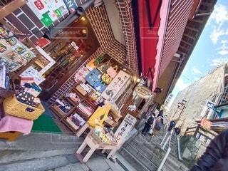 伊香保温泉 石段街 土産物屋の写真・画像素材[3138341]