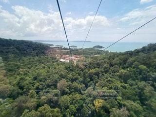 ランカウイ島 絶景ケーブルカーの写真・画像素材[3149496]