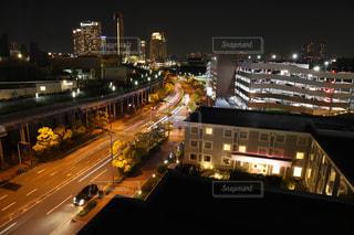 街の素敵な夜景の写真・画像素材[3145823]