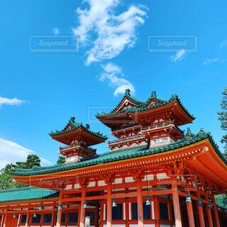 平安神宮の写真・画像素材[4396751]