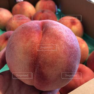 ハネの桃を箱買いしてきました!の写真・画像素材[3600346]