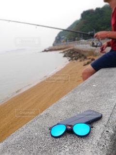 釣りをする男性の写真・画像素材[3543886]