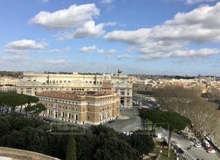 ローマ、サンタンジェロからの眺めの写真・画像素材[3158652]