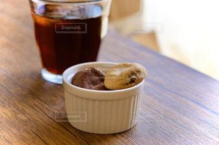 バニラ&チョコレートの写真・画像素材[3203245]