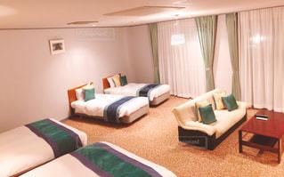 ホテルの部屋の写真・画像素材[3155558]