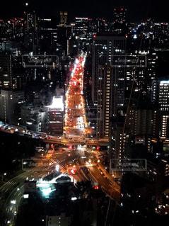 東京タワーからの夜景の写真・画像素材[3167264]